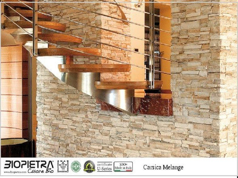 Revestimiento de fachada piedra artificial carsica - Piedra artificial para fachadas ...