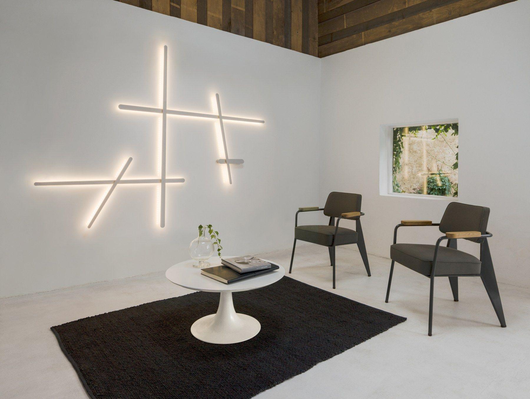 Lampada da parete in policarbonato SPARKS 1700 by Vibia design ...
