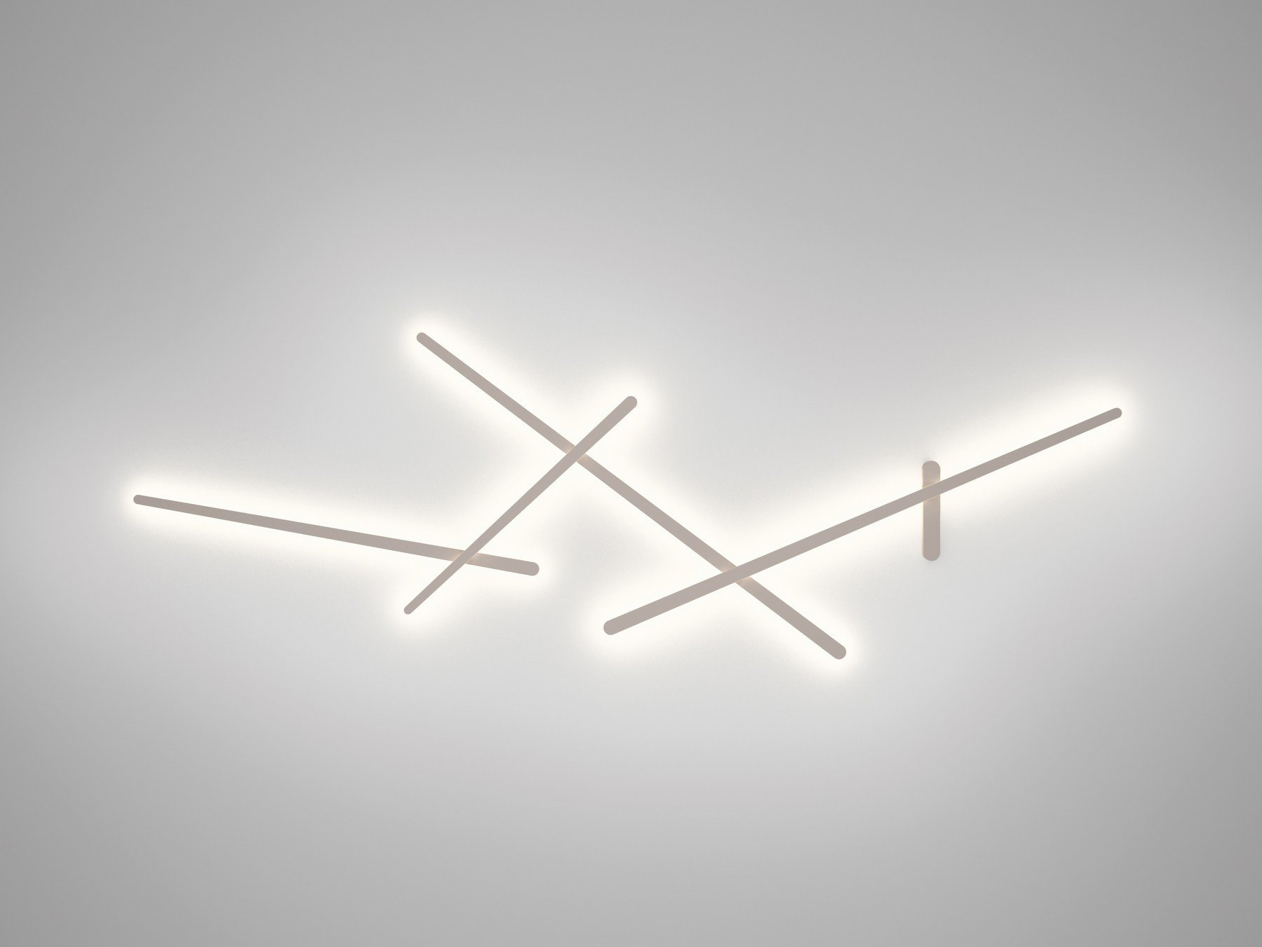 Contemporary style polycarbonate wall lamp sparks 1705 by - Illuminazione parete design ...