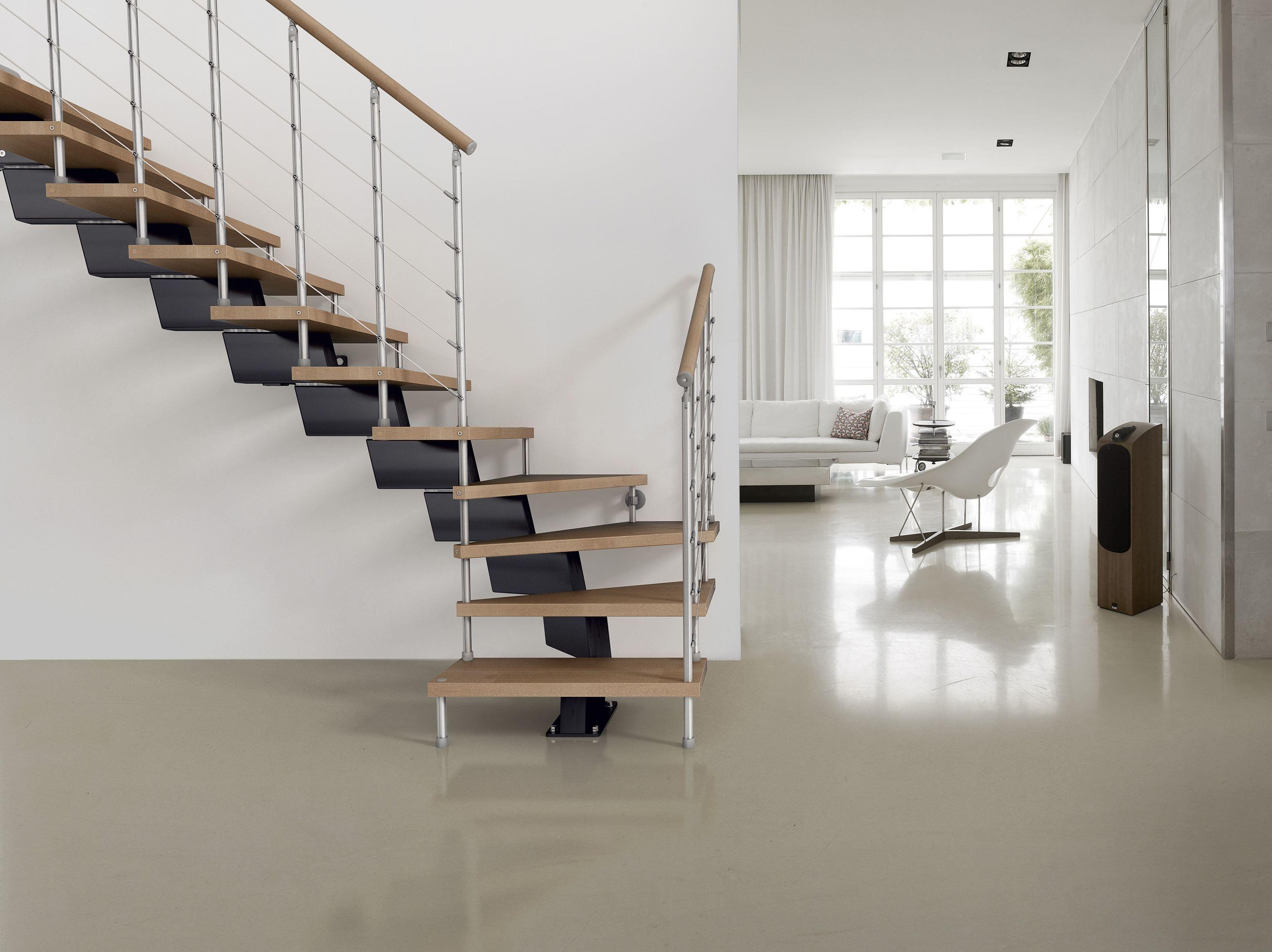 Genius 040 escalier ouvert by fontanot spa - Escalier ouvert salon ...