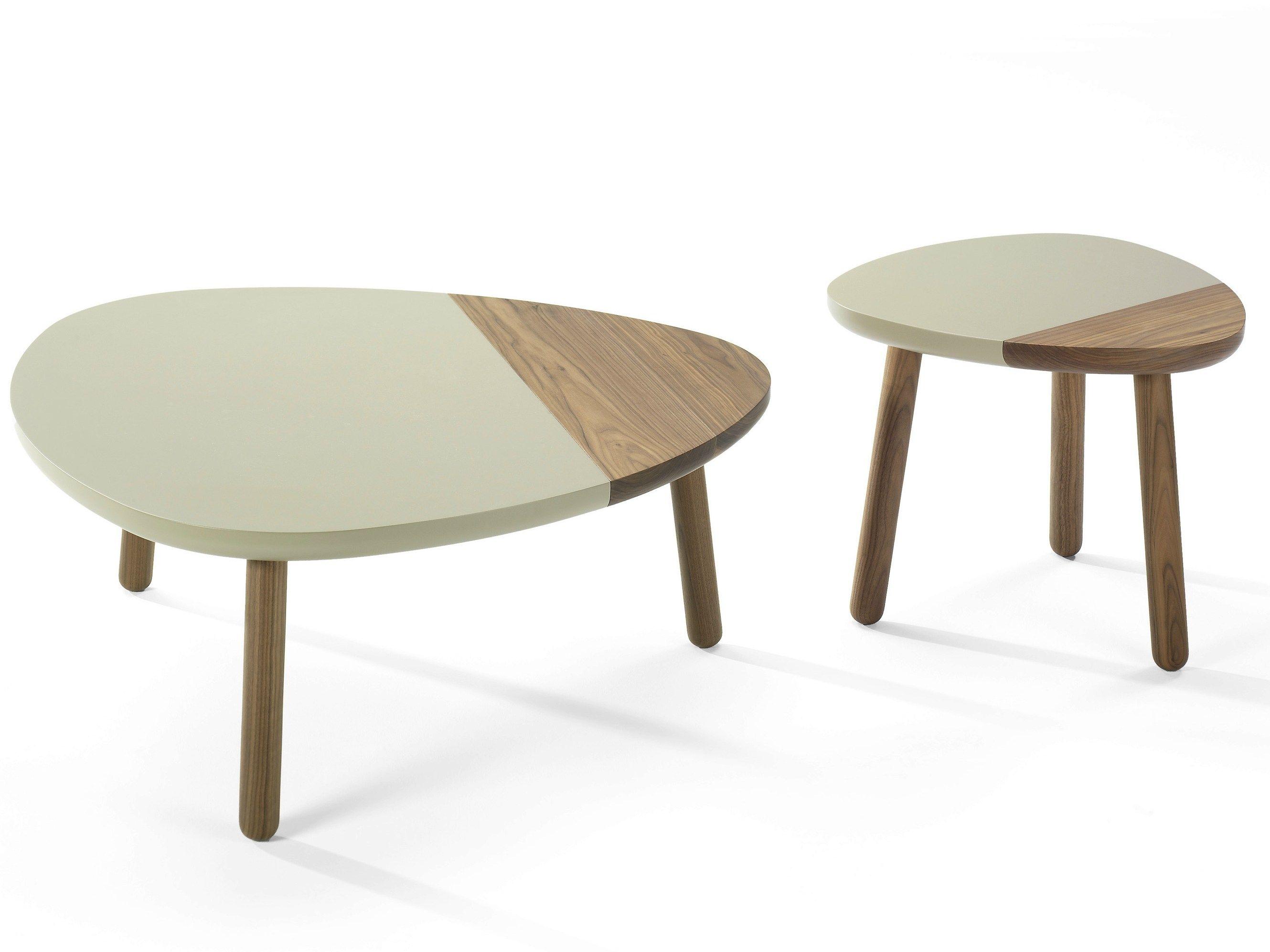 Lacquered Wooden Coffee Table Cami By Kendo Mobiliario Design Luis Alberto Arrivillaga
