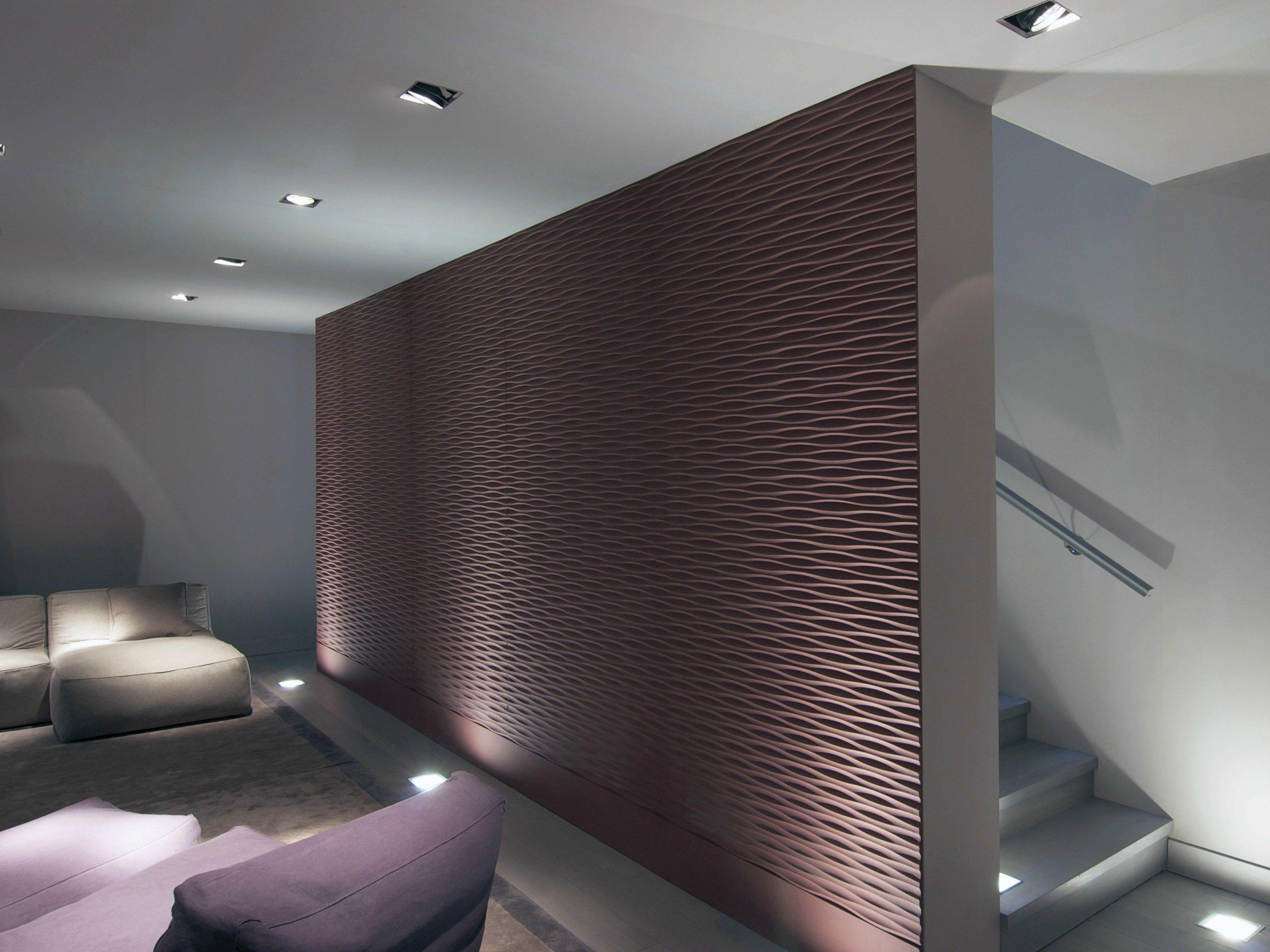 Mdf 3d Wall Panel Thalweg Mdf By Marotte 174