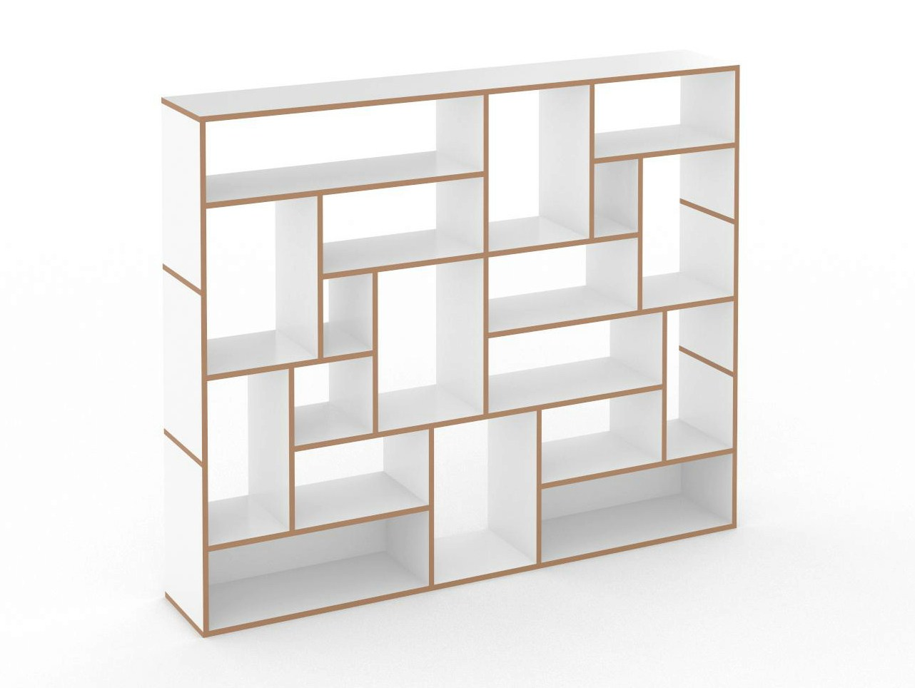Open modular mdf bookcase hanibal by tojo m bel design for Design sale mobel
