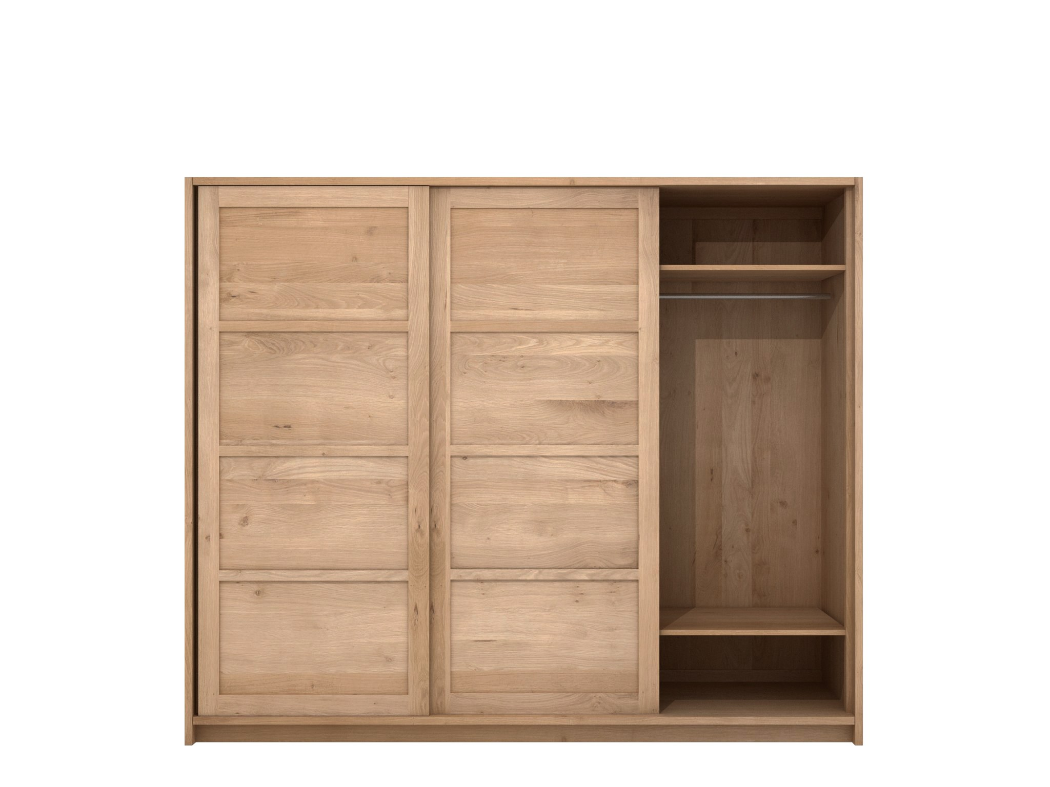 oak knockdown armoire by ethnicraft. Black Bedroom Furniture Sets. Home Design Ideas