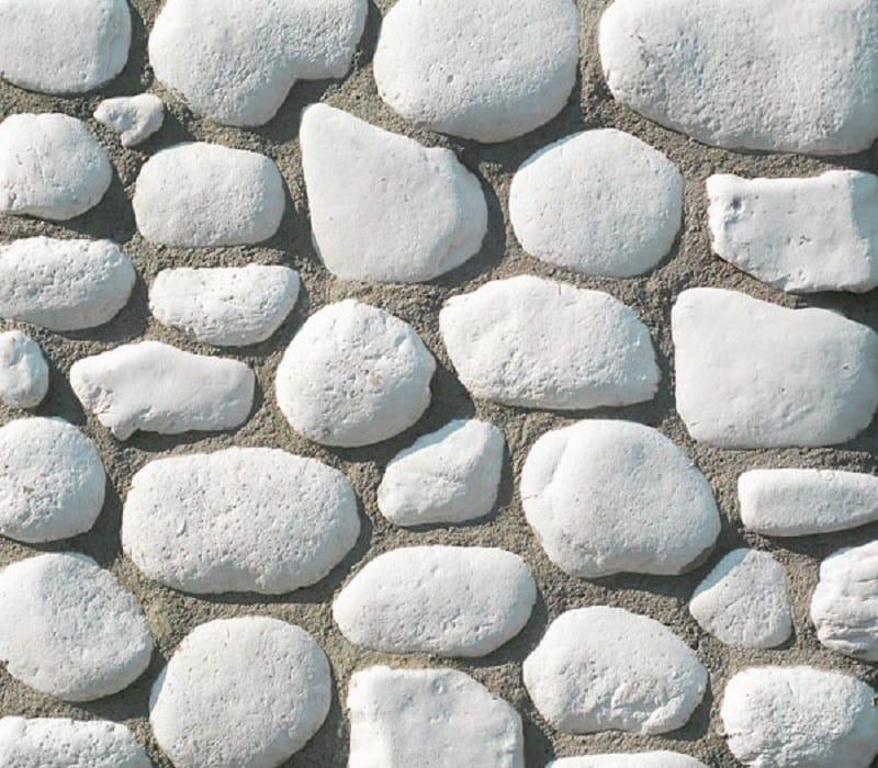 Elemento de piedra artificial para fachada ciottolo river - Piedra artificial para fachadas ...