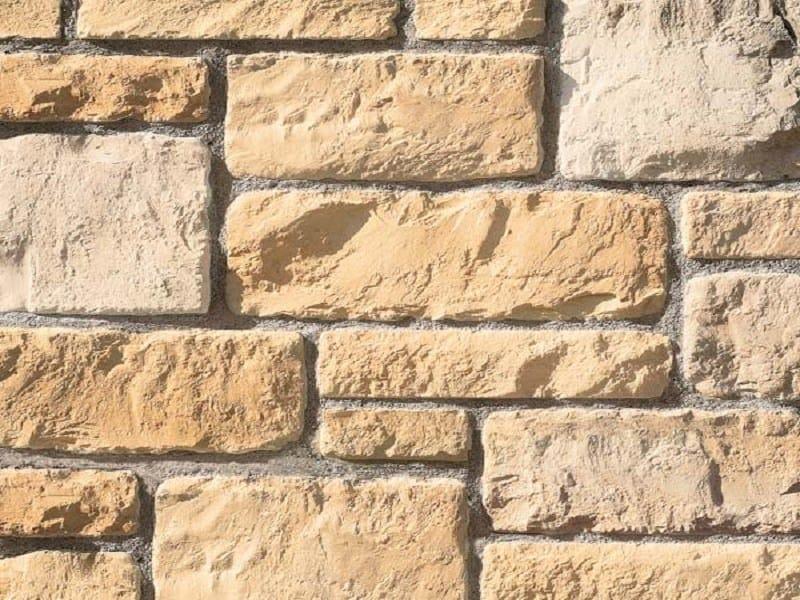 Revestimiento de fachada piedra artificial acropoli by - Piedra artificial fachadas ...