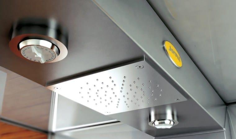 Cabinas De Baño Dimensiones:Cabina de ducha con baño de vapor con hidromasaje MYNIMA 120 by
