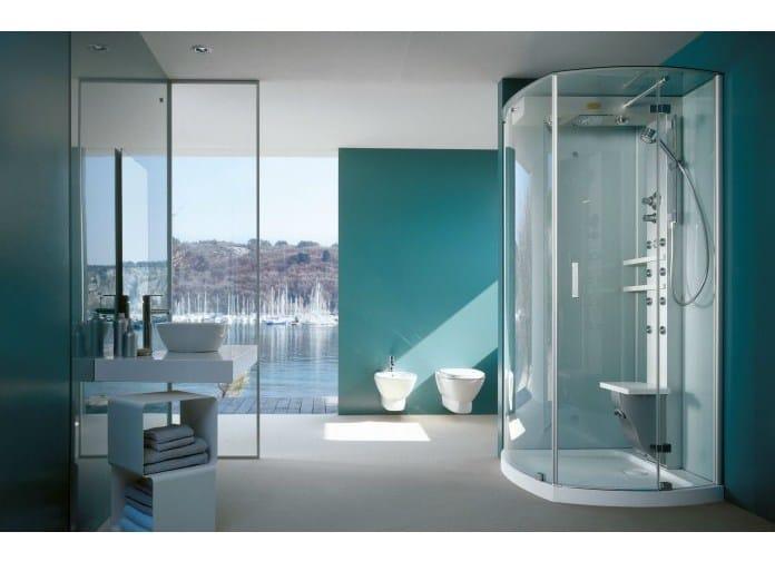 Box doccia multifunzione con bagno turco mynima 90 by - Box doccia con bagno turco prezzi ...