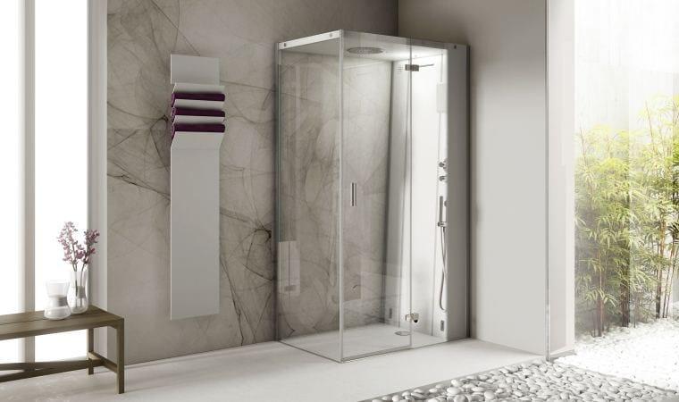 Cabinas De Baño Turco:Cabina de ducha de esquina multifunción con baño de vapor CLOUD 120