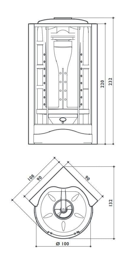 Cabinas De Ducha Jacuzzi:Jacuzzi Shower Tower