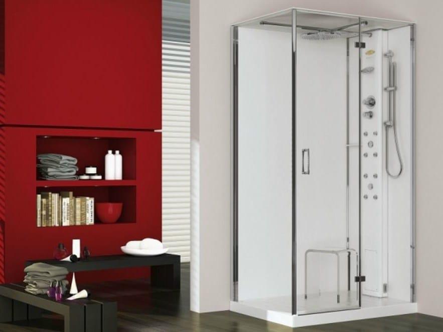 Box doccia multifunzione con bagno turco play 100 by - Box doccia con bagno turco prezzi ...