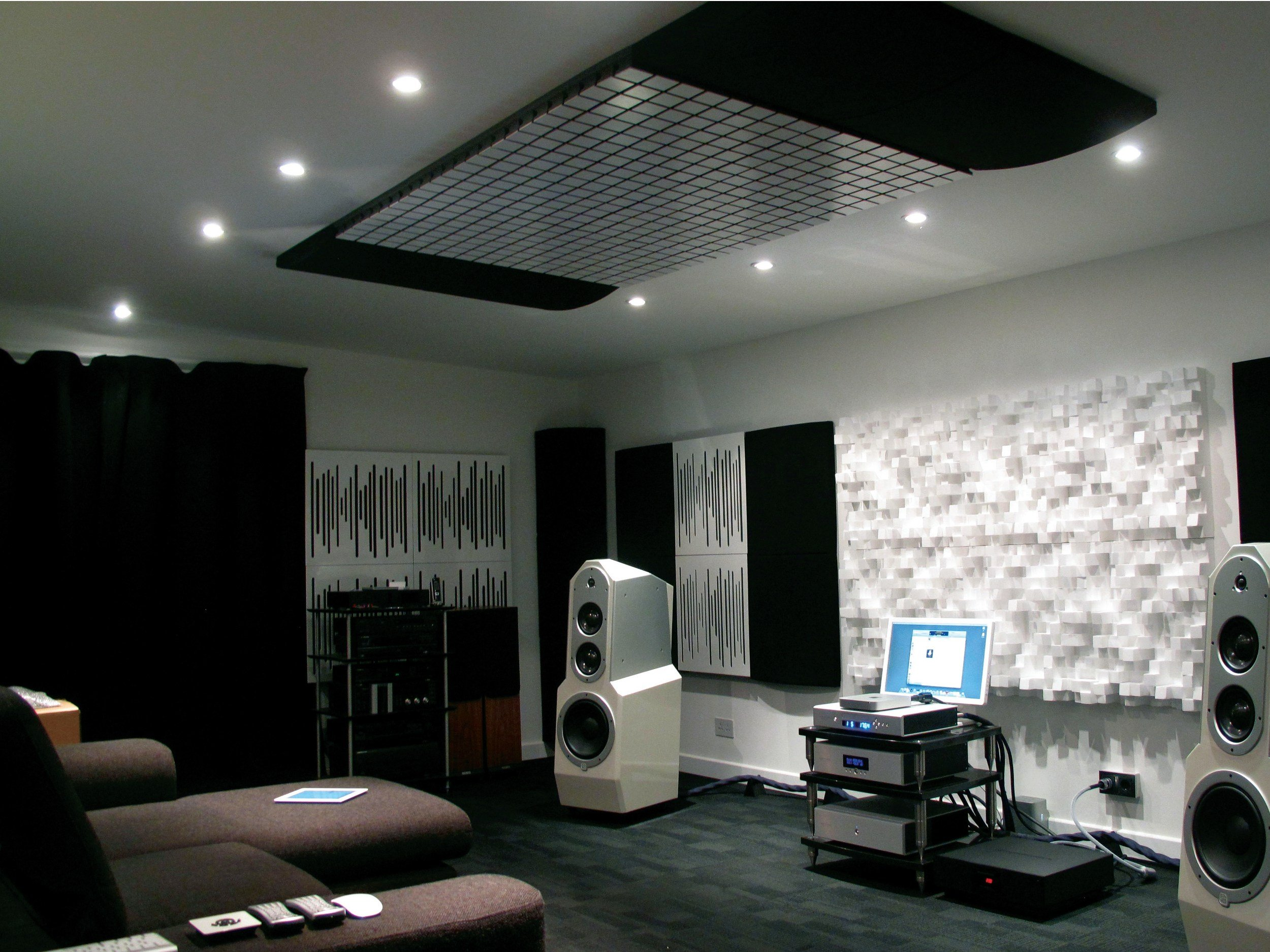 Eps Decorative Acoustical Panels Multifuser Dc2 By