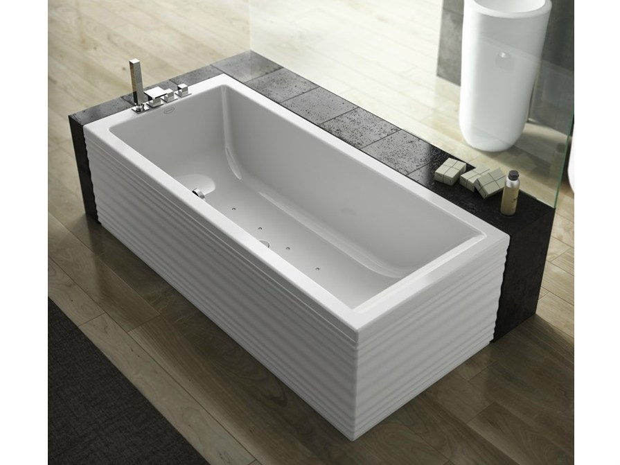 Whirlpool Rectangular Bathtub Moove Blower By Jacuzzi