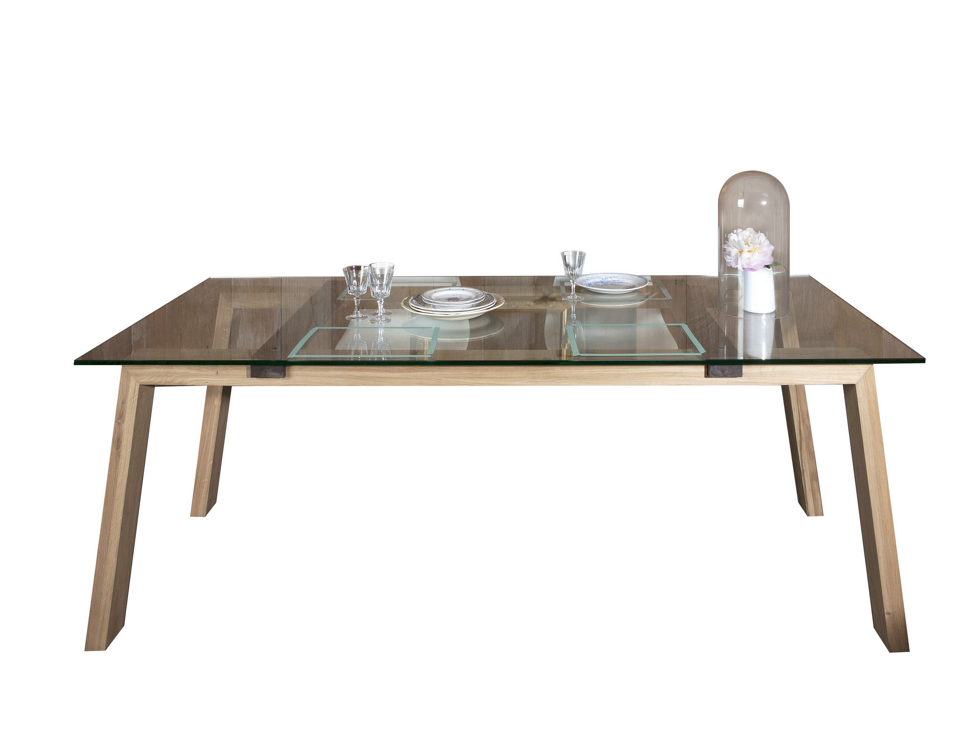 table rectangulaire en bois massif table collection 98 by. Black Bedroom Furniture Sets. Home Design Ideas