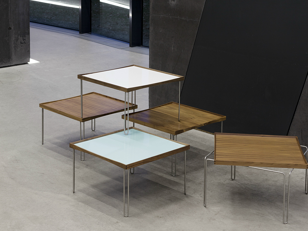 Low Modular Laminate Coffee Table Tray Table By Onecollection Design Finn Juhl