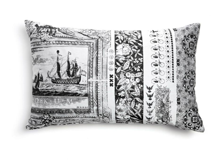 coussin rectangulaire en tissu pour canap heritage 3 by moooi design marcel wanders. Black Bedroom Furniture Sets. Home Design Ideas