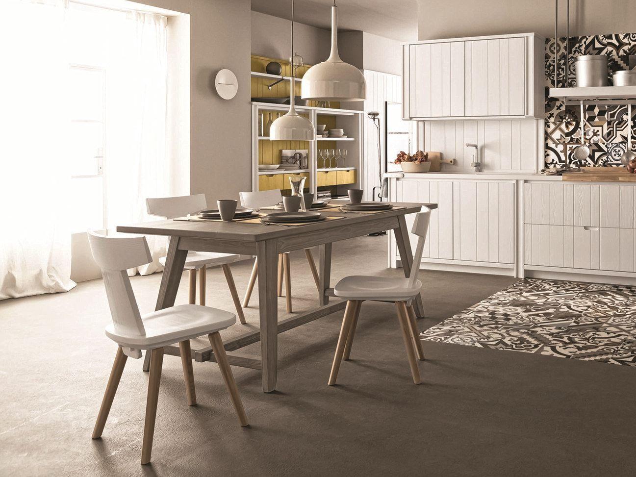 Maestrale tavolo rettangolare by scandola mobili for Scandola mobili