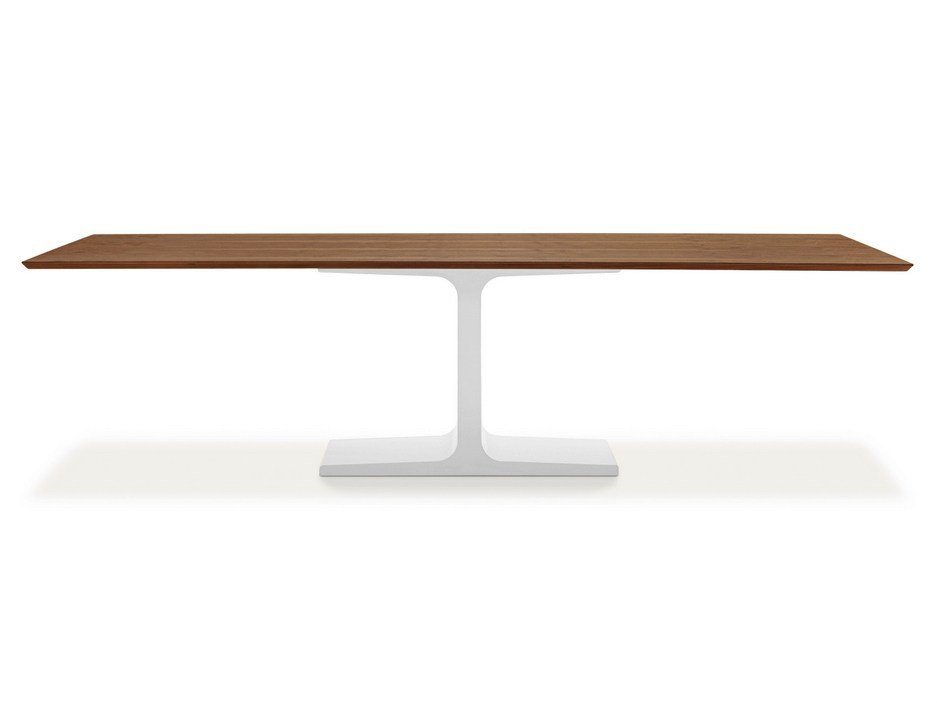 Rectangular Wooden Dining Table PALACE WOOD By SOVET ITALIA Design Lievore Al