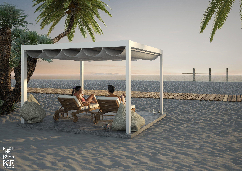 freistehende terrassen berdachung aus aluminium saki by ke outdoor design. Black Bedroom Furniture Sets. Home Design Ideas