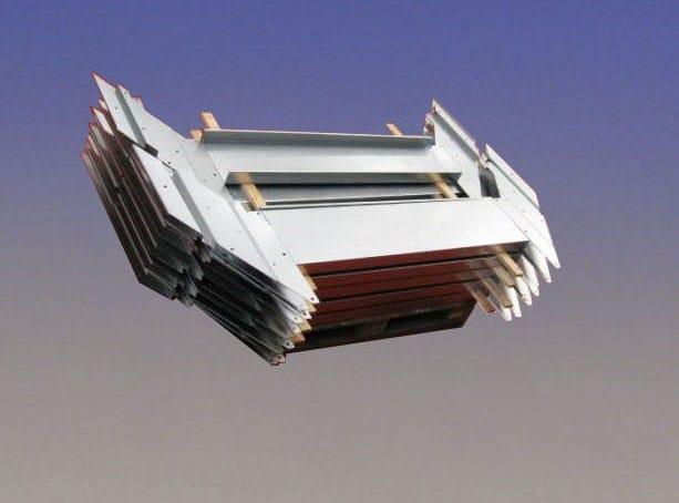 Escalera abierta modular de acero galvanizado easy step by - Acero modular precios ...