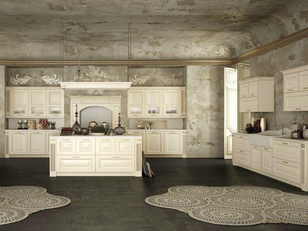CUCINA COMPONIBILE IN STILE CLASSICO DERUTA BY DEL TONGO #897842 1208 906 Stile Classico Cucina