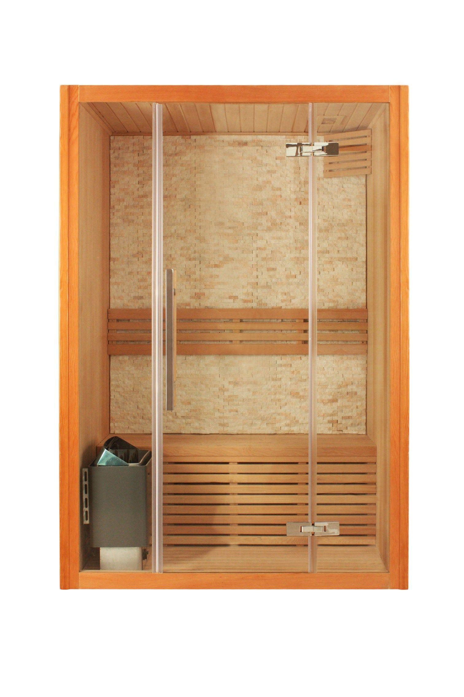 Sauna finlandese prefabbricata per cromoterapia bl 153 - Cabina bagno prefabbricata ...