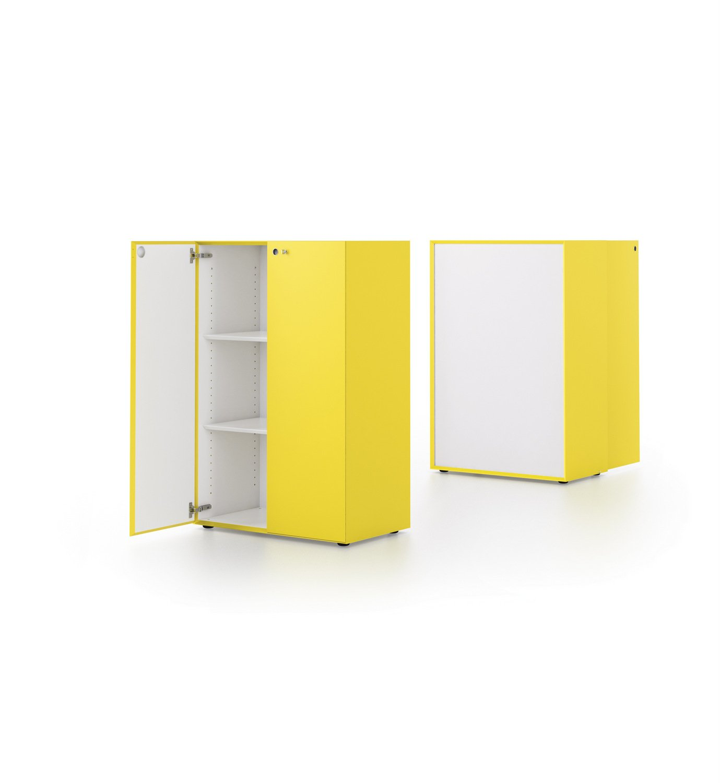 M ta armoire de bureau by fantoni for Armoire modulable