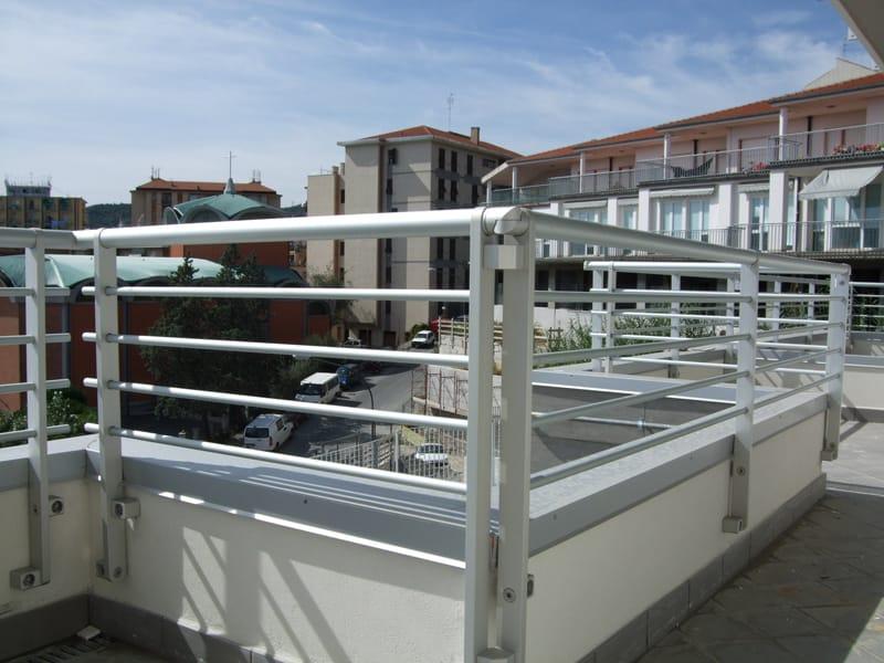 Baranda de escalera de aluminio para balcones frosinone by - Barandas de aluminio ...