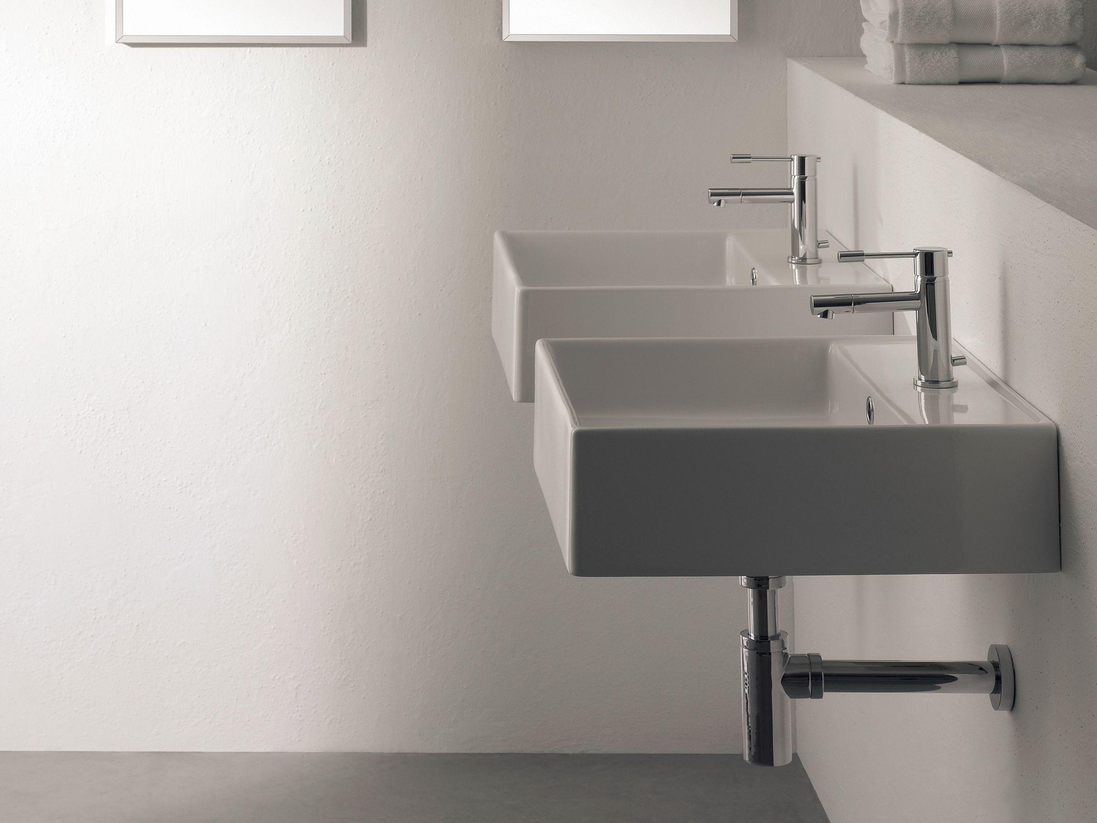 h nge waschbecken aus keramik teorema 30r by scarabeo. Black Bedroom Furniture Sets. Home Design Ideas