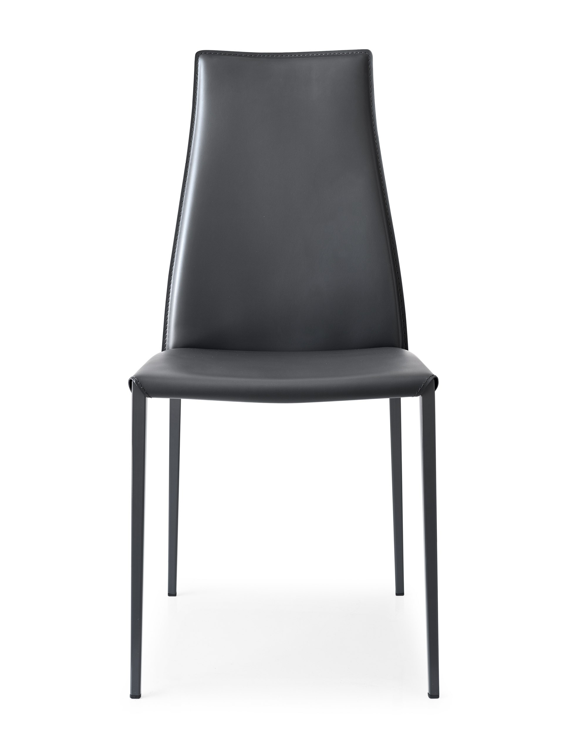 Aida sedia in cuoio rigenerato by calligaris design studio 28 for Sedie cuoio prezzi