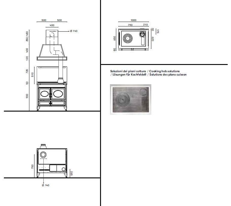 Cucina a libera installazione country 100 l by corradi cucine - Cucine a libera installazione ...
