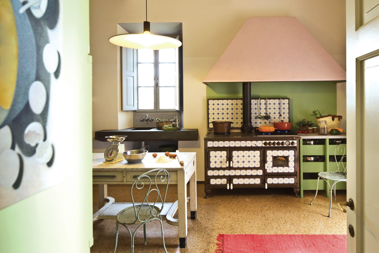 Cucina a libera installazione borgo antico 140 lge collezione borgo antico by corradi cucine - Riscaldare casa in modo economico ...