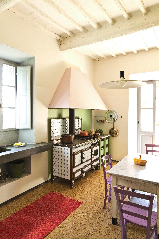 Cucina a libera installazione borgo antico 140 lge - Riscaldare casa in modo economico ...