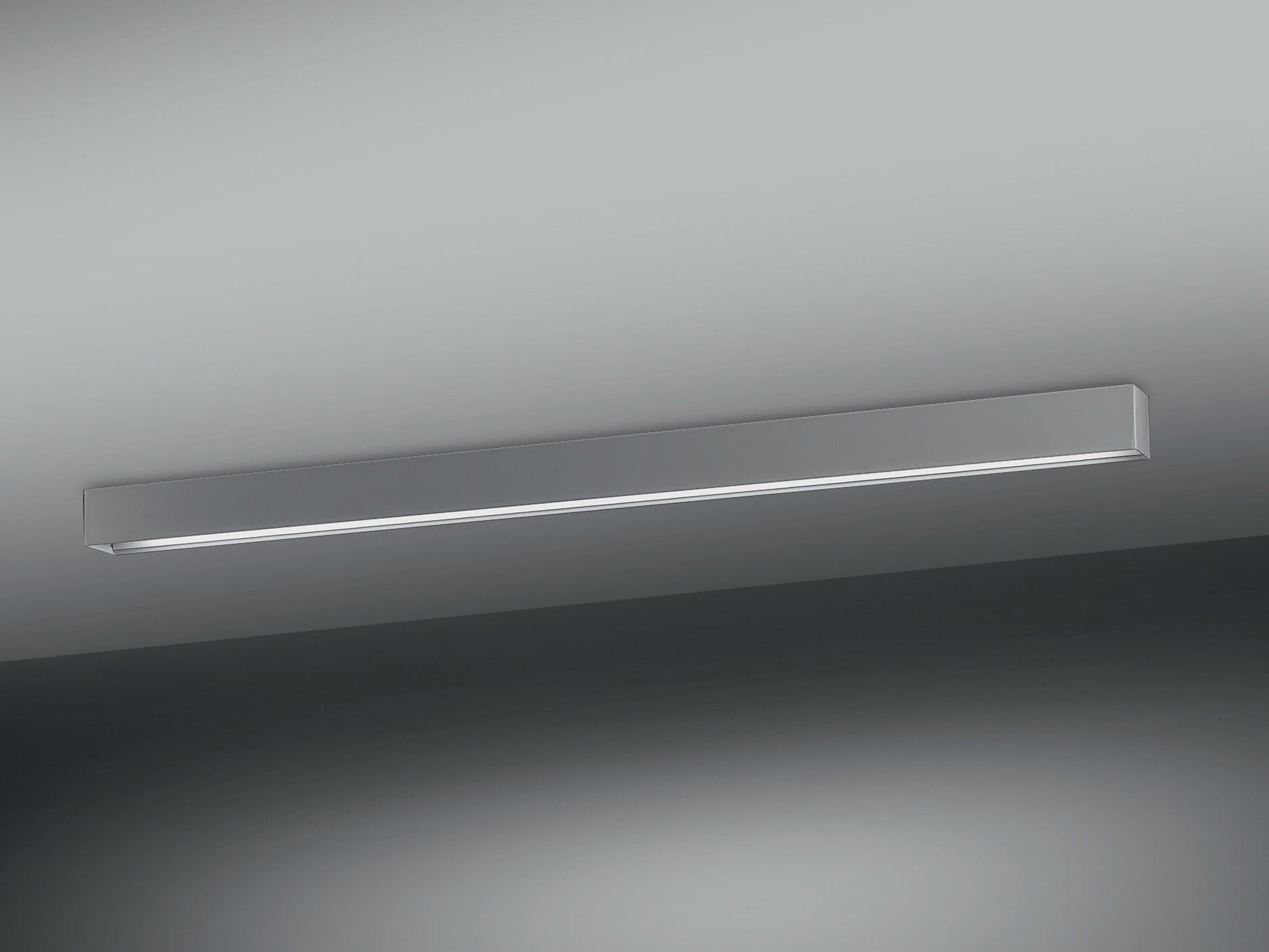 Retta lampada da soffitto by olev by clm illuminazione for Lampade a soffitto