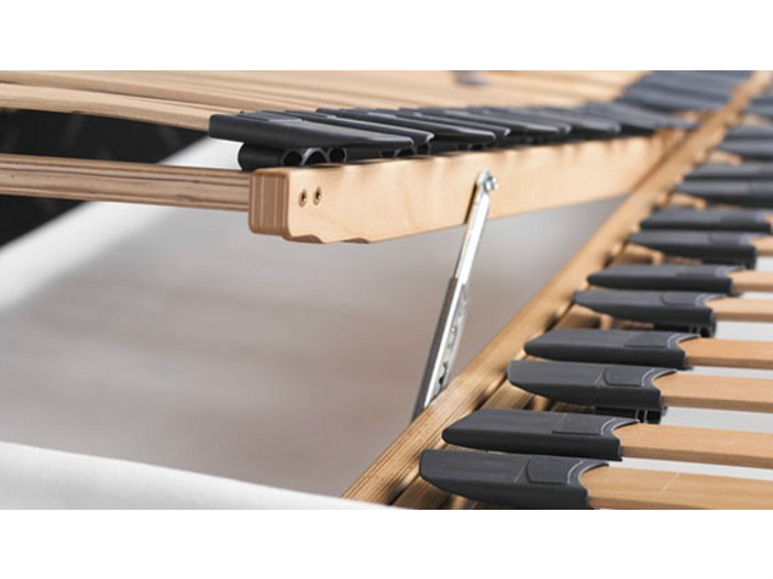 Adjustable Single Bed Base : Slatted adjustable single bed base ?lite mm by meridiani