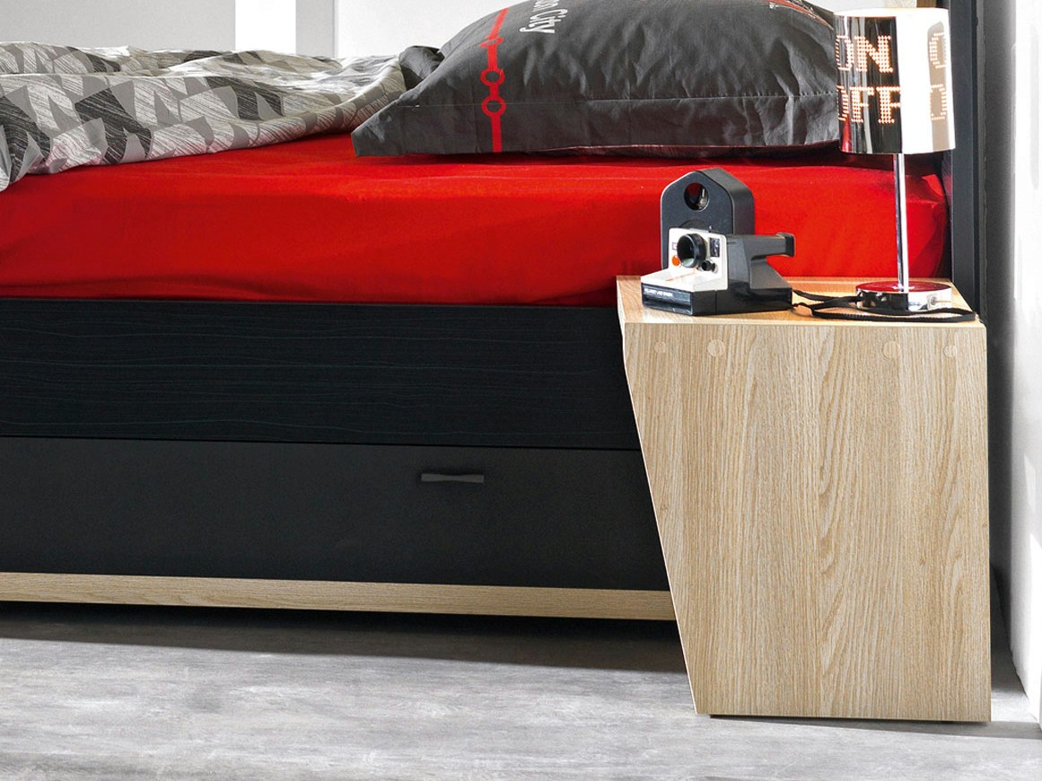 chevet avec son connexion bluetooth urban by gautier france. Black Bedroom Furniture Sets. Home Design Ideas