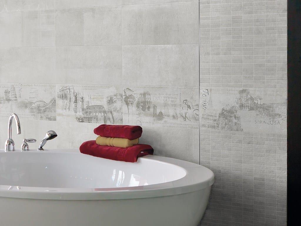 Pavimento in gres porcellanato effetto pietra icon by for Ceramica rondine