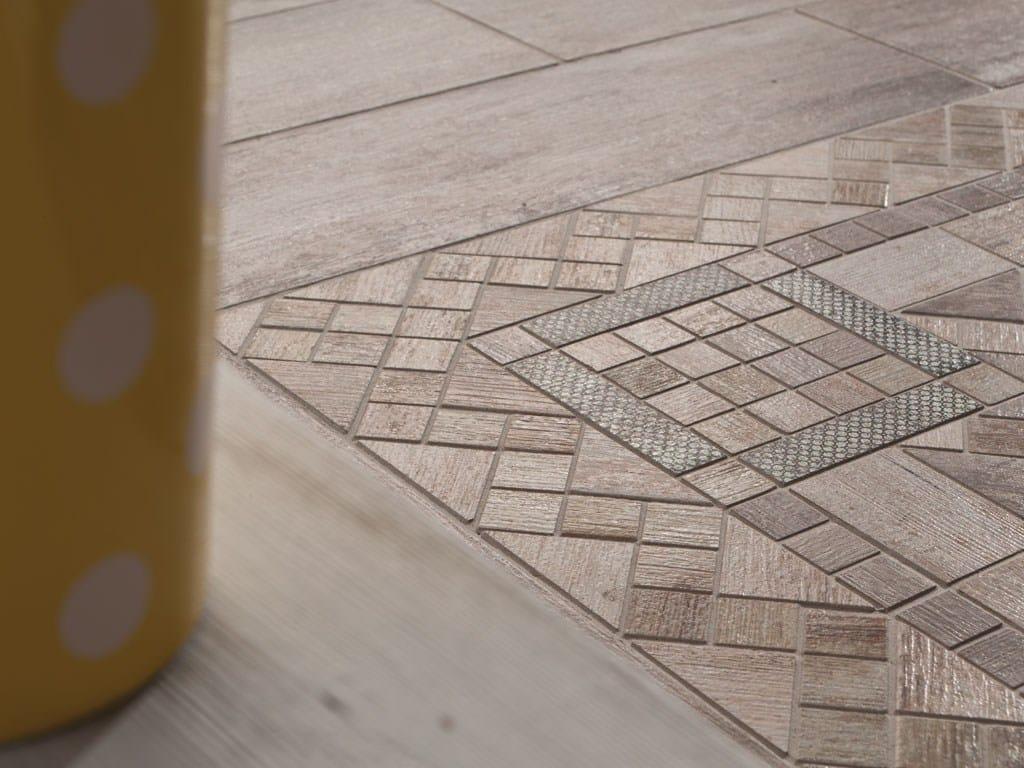 Rivestimento pavimento in gres porcellanato metalwood by - Rivestimento bagno gres porcellanato ...