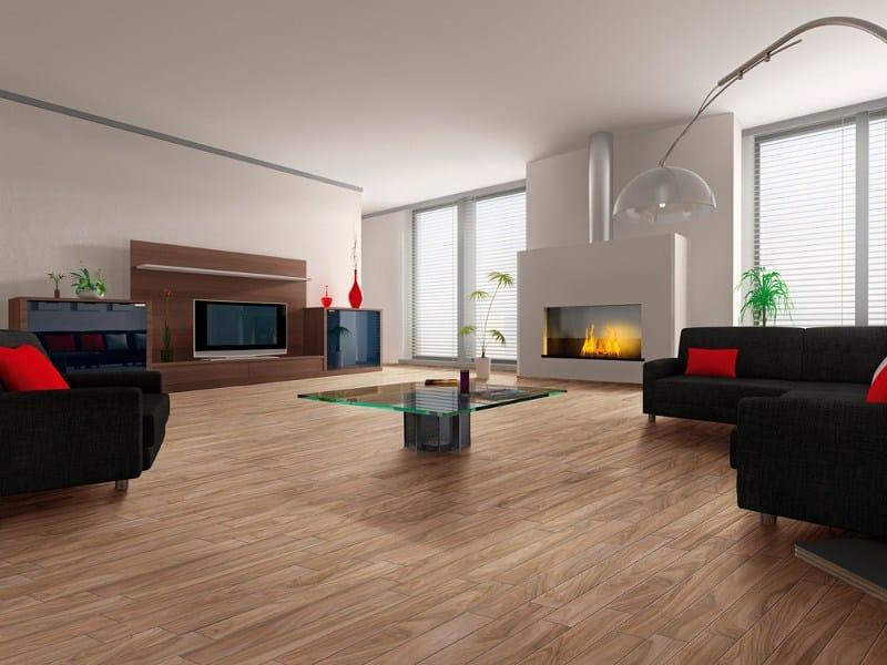 Pavimento in gres porcellanato effetto legno naturalia by for Pavimento ceramica effetto parquet
