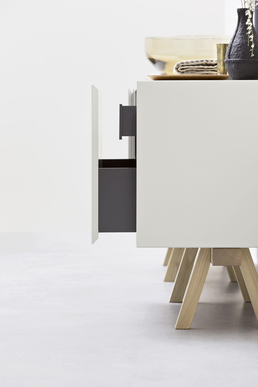 Meuble sous vasque composable avec tiroirs collection - Meuble sous vasque design ...
