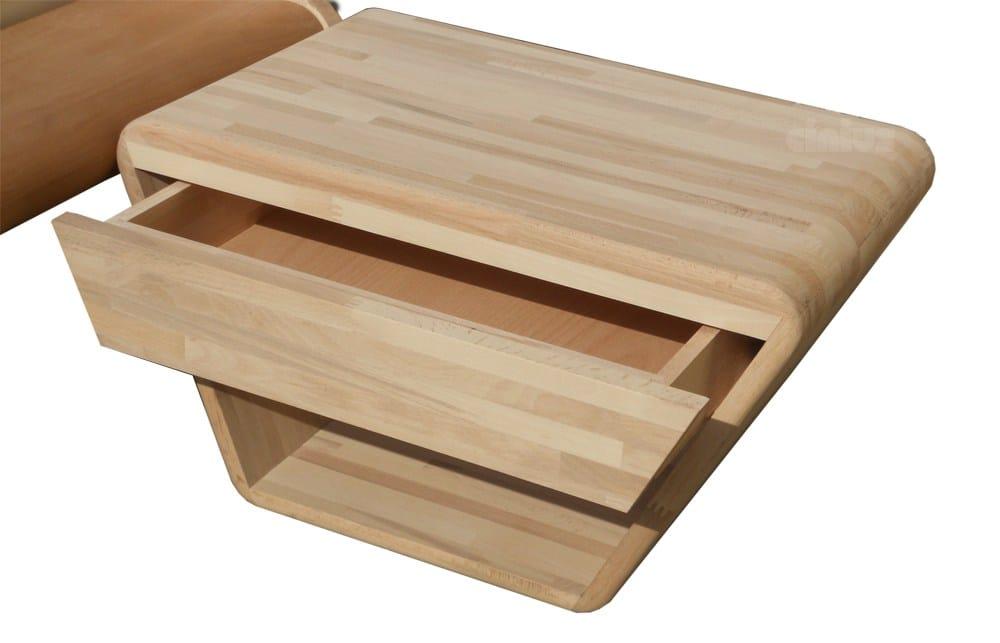 Letto matrimoniale in legno onda by cinius design fabio fenili - Letto matrimoniale giapponese ...