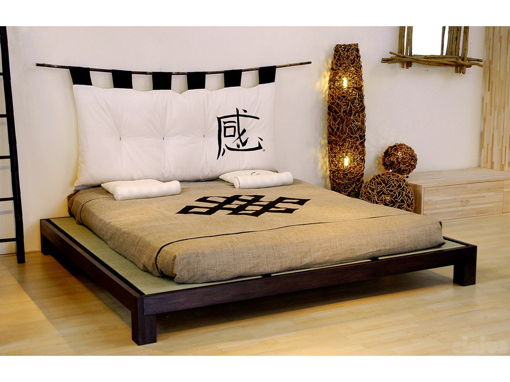 Tatami bed by cinius for Cama tatami