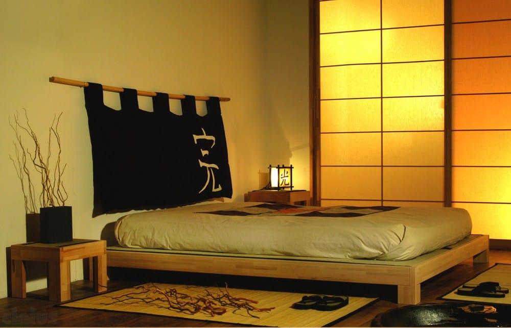 Letto matrimoniale tatami in legno collezione tatami by cinius for Tatami giapponese