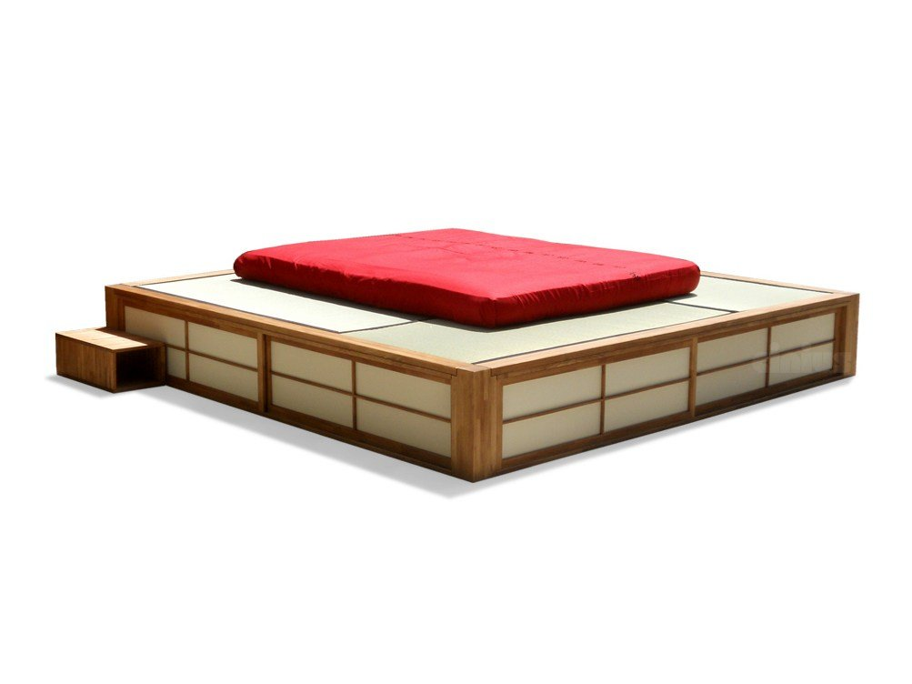 tatami convertible storage bed podio by cinius. Black Bedroom Furniture Sets. Home Design Ideas