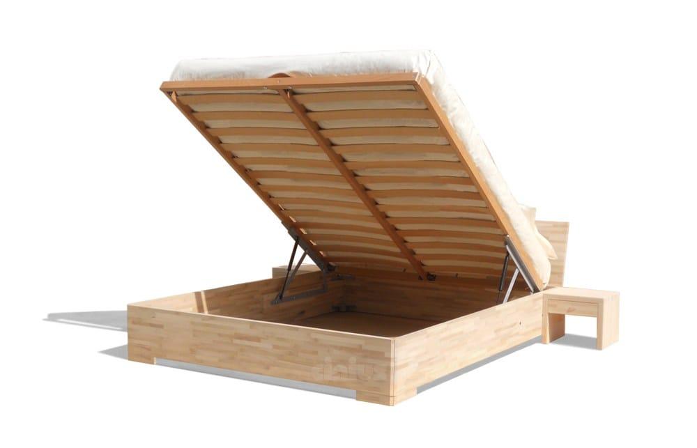 Letto contenitore matrimoniale in legno BOXUP by Cinius ...