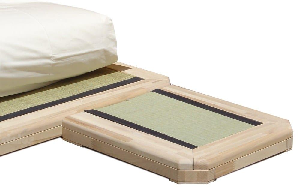 Cama de casal tatami de madeira dojo by cinius for Cama tatami