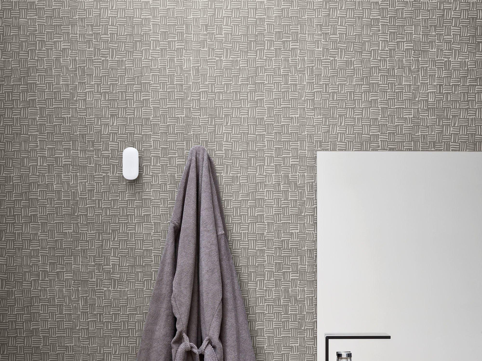 Gabinete Para Banheiro: Papel de parede banheiro impermeavel #362D2E 2000 1500