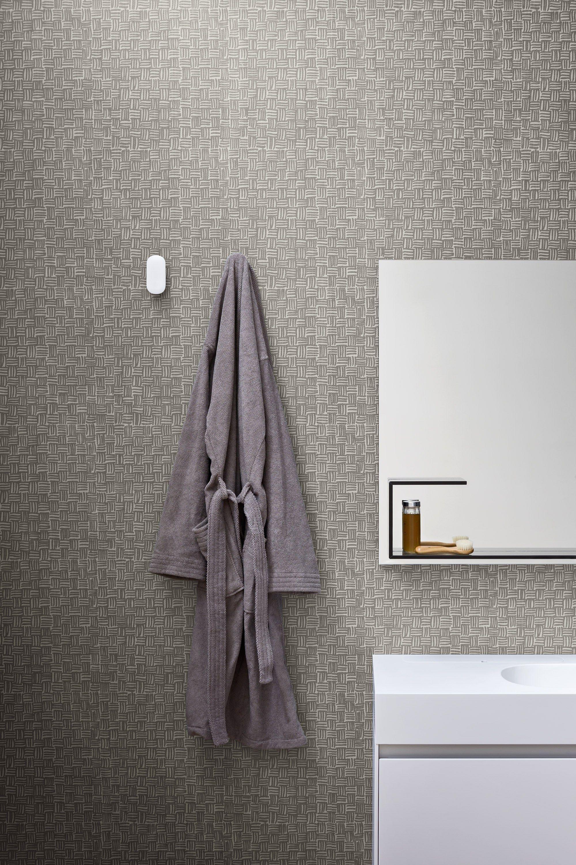 Papel de parede impermeável para banheiros FIBRA Papel de parede  #58504A 2000 3000