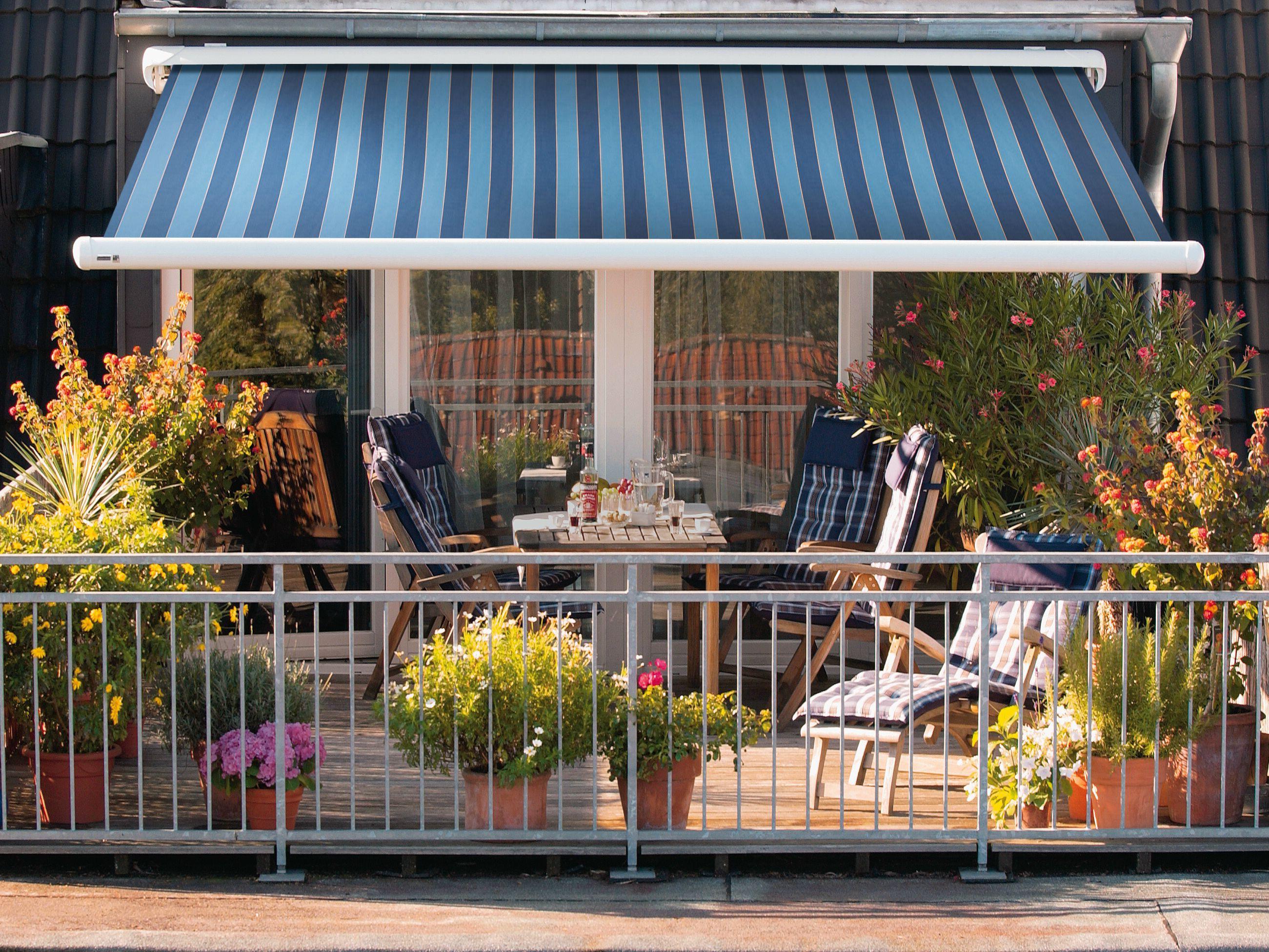 Обустройство открытого балкона: 8 свежих идей.