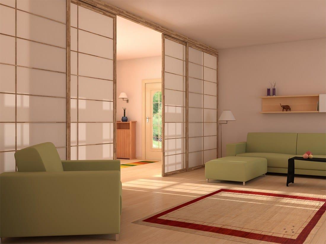 Shoji parete mobile scorrevole by cinius